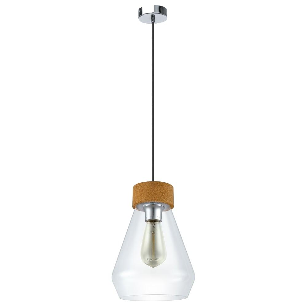 Eglo Lighting Vintage Brixham Single Light Ceiling Pendant