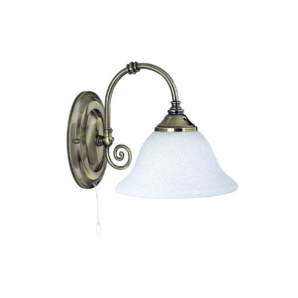 Searchlight lighting virginia single light switched wall for Appliques murales bois