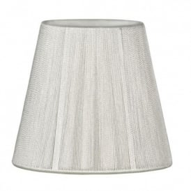 Wall Light Fabric Shades In Red or Oyster Colour