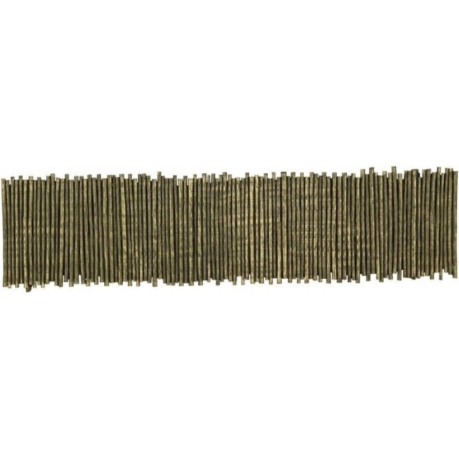 David Hunt Lighting Willow Low Energy Single Light Wall Fitting in Gold Cocoa Finish