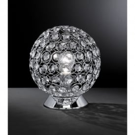 8568.01.01.0250 Holly Chrome Switched Table Lamp