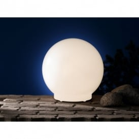 Lua Outdoor Medium Opal White Light
