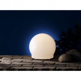 Lua Outdoor Small Opal White Light