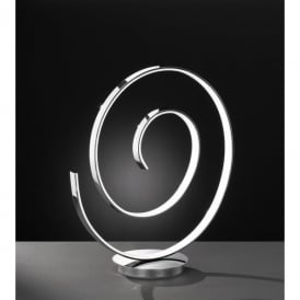 Orland/Serie 510 Single LED Table Lamp in Polished Chrome Finish